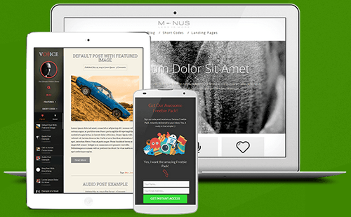 Thrive Products to Design Websites